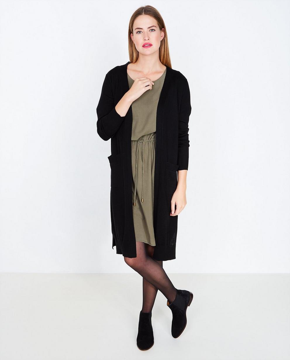 Gilet noir  - en laine mélangée, Soft Rebels - Soft Rebels